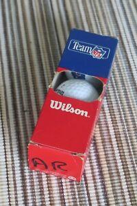 Collectible NFL Team Wilson Sleeve of Golf Balls, Chicago Bears Football