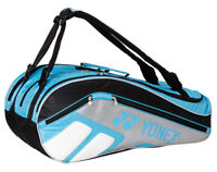YONEX Tennis Badminton Bag 3 Packs Rucksack Blue Racquet Racket Squash 69BR008U