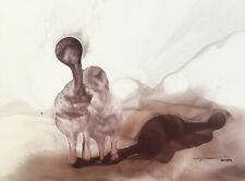 Tonito's Original Fine art painting.Organic realism.Amazing series.SHADOWS 12