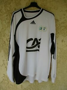Maillot SCO ANGERS porté n°2 COUPE GAMBARDELLA ADIDAS shirt L/S vintage XL