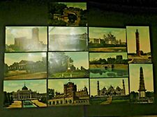 More details for 12 vintage colour postcards of lucknow india landmarks - unused