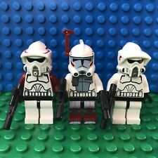 Lego Star Wars Elite ARC ARF Clone Troopers Minifigs 9488 Lot Of 3 Minifigures