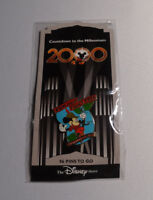 "Disney Countdown to the Millennium Pin Series ""FUN AND FANCY FREE"" MICKEY, NEW"