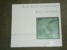 Derek Bailey With Min Tanaka ‎Music And Dance sealed