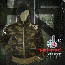 Hotspot Design Jacket Camouflage Neoprene- Anglerjacke, wind- und wasserdicht