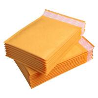 60 Pcs / Lot Enveloppes à Bulles Enveloppes en Papier Kraft Sacs Enveloppes E3V9