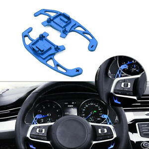 Blue Paddle Shifters RACING Type DIRECT Replacement VW GOLF MK7 GTI R 2013-2018