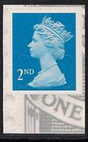 GB 2010 U3011 2nd Blue Type 3 MA10 MPIL s/a George V booklet stamp MNH ex U2962