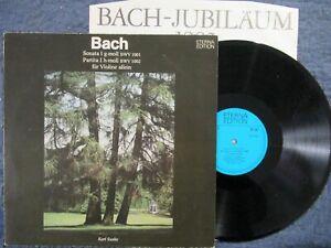 KARL SUSKE Bach Sonata I g-moll & Partita I h-moll / LP DDR 1985 ETERNA 827842