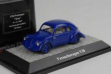Porsche vw v30 tentative voiture prototype Blue Bleu 1:43 premium ClassiXXs