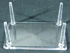 A Small LUCITE 4 Post Display Stand for Crystals Fossils Minerals and More!