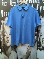 "a90a93af70 Men s Fila Polo Camisa Algodón 100% Azul XL C44"""