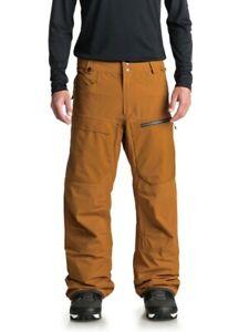 QUIKSILVER Men's TR STRETCH Snow Pants - CPD0 - Medium - NWT