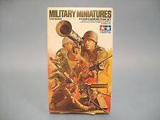 U.S. Gun & Mortar Team Set Military Miniatures Tamiya Model Kit #Mm-186