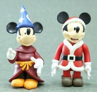 "KUBRICK Disney Mickey Mouse Figur 2PCS Authentic 3-3.5"" Medicom Japan"