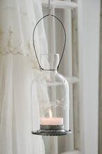 Windlicht Glaswindlicht Hängewindlicht Shabby Chic Landhaus Vintage