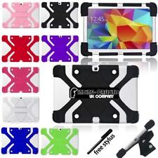 Shockproof Silicone Stand Cover Case For Various Samsung Galaxy Tablet + stylus