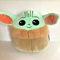 "Squishmallow Star Wars The Mandalorian The Child Baby Yoda 10"" Plush NEW"