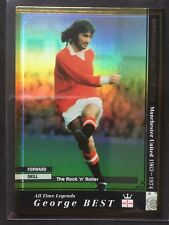2008-09 Panini WCCF ATLE George Best Gold refractor card Manchester United