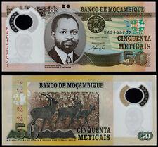 Mozambique 50 mozambiqueños (P150) 2011 polímero UNC