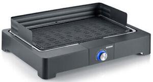 B-WARE - SEVERIN PG8562 Tischgrill mit Grillrost 2200 W Schwarz BBQ Grill