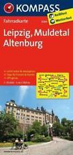 KOMPASS Fahrradkarte Leipzig - Muldetal - Altenburg 1 : 70 000 statt 7.99 nur ..