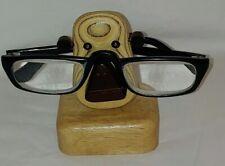 Natural Hardwood Monkey Face Eyeglass Eyeglasses Sunglasses Holder Stand