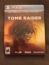 Shadow of the Tomb Raider Croft Steelbook Edition PlayStation 4 NEW - FREE SHIP!