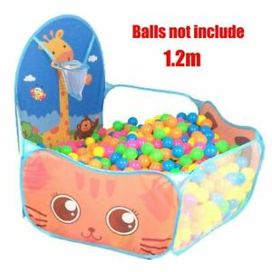 Portable Baby Playground Children Large Playpen Tunnel Pool Balls Camping Toys