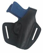 B1 Leder Pistolenholster Gürtel Holster für IWG P 315 schwarz NEU VlaMiTex