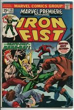 Marvel Premiere #19 Featuring Iron Fist Key first appearance of Colleen Wing FN-