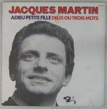 Jacques Martin 45 tours 1970