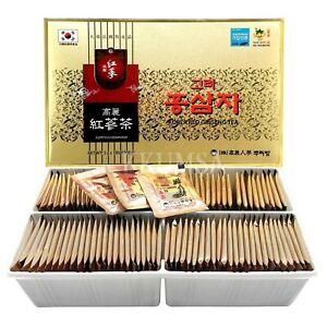 Korean Red Ginseng Root Tea, panax, Anti Stress Fatigue / 100 Tea bags