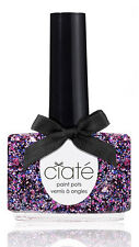 * New Ciaté Nail Polish - FANCY PANTS (pink, purple & blue glitter) - 13.5 ml *