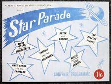 ROLLING STONES 1963 REPRO SIGNED CONCERT TOUR STAR PARADE PROGRAMME . NOT CD
