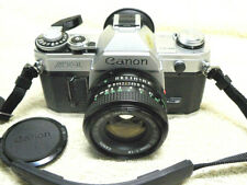Vintage Canon AT-1 35mm SLR Camera w/ 50mm f/1.8  Lens.*** COLLECTOR QUALITY ***