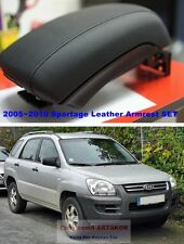 For 2005-2010 KIA Sportage Double heightened Leather Armrest Console Storage Box