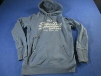 vtg 00s superdry small  hoody hooded sweater sweatshirt Jumper Ref008
