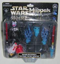 Star Wars Star Tours Muppets Uncle Deadly, Gonzo and Chicken