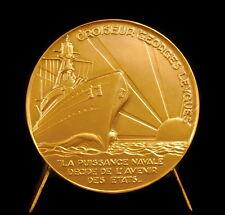 Médaille Croiseur Georges Leygues sc G Guiraud Classe La Galissonnière medal
