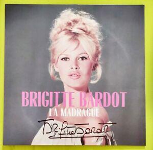 Brigitte Bardot signierte LP La Madrague original Autogramm 180 g Vinyl signed