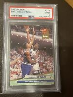 1992 ULTRA SHAQUILLE O'NEAL #328 RC PSA 9 MINT ROOKIE HOF