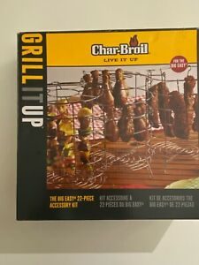 Char Broil Live It Up Big Easy 22 Piece Accessory Kit BBQ New In Box 7238884
