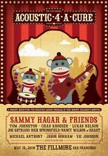 Sammy Hagar & Friends Acoustic 4 A Cure Concert (4 Tickets)