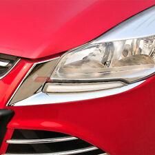 ABS Chrome Trim Front Light Eyelid For Ford Kuga Escape MK2 2013 2014 2015 2016