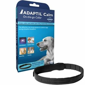 Adaptil Calming Collar - On The Go Dog Puppy Collar for Calming and Comforting