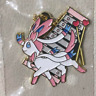 Ichiban Kuji Pokemon EIEVUI & MELODIES Sylveon Metal Charm Keychain From Japan