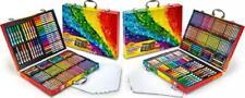 Crayola 140 Count Art Set, Rainbow Inspiration Case, Portable &.