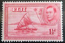 Fiji – 1938  1½d – Mint - SG 251 – Empty Canoe – Scarce Type – Cat £15 (Se1)
