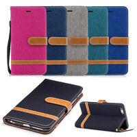 Handy Tasche für Apple iPhone 6 7 8 X Flip Cover Case Schutz Hülle Schale Wallet